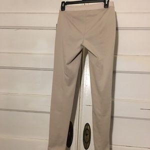 Elie Tahari Pants - Elie Tahari for Designer Nation XS beige leggins